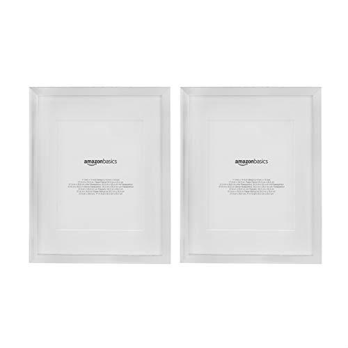 marco blanco 20x20 fabricante AmazonBasics