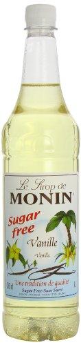 MONIN Premium Vanilla Sugar Free Syrup 1 Litre