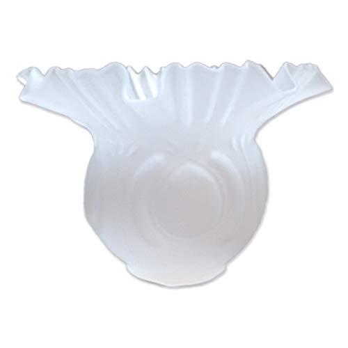 LB Tulipa de Cristal Alcazaba Mate 10x15cm con Boca de 5 cm LTDE 82-M