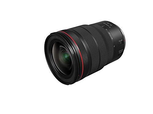 Canon Zoomobjektiv RF 15-35mm F2.8L IS USM für EOS R Ultraweitwinkel (82mm Filtergewinde, Bildstabilisator, Autofokus), schwarz