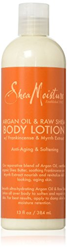 SheaMoisture Argan Oil & Raw Shea Butter Body Lotion w/ Frankincense and Myrrh Extract - 13 oz