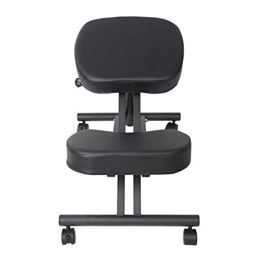 LIUTT Sedia in Ginocchio - Sedia in Ginocchio per impieghi gravosi Sgabello Ortopedico Sedile con Struttura ergonomica per l'home Office
