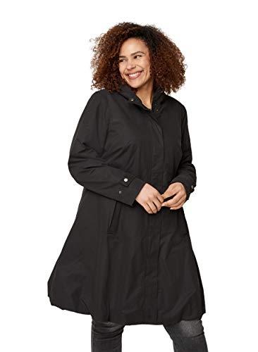 Zizzi Große Größen Damen Jacke mit Kapuze und Taschen Gr 42-56