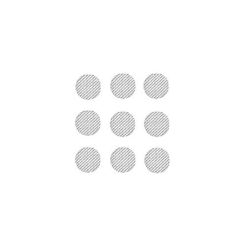 Earbuds Filters Earphone Filter Mesh Compatible for Raycon E55 E25,Skullcandy Indy,Sennheiser ie800 IE40 PRO,Bang & Olufsen Beoplay h5 E8,Samsung Gear IconX,Sony wI-C400,JBL T280A 4mm Silver