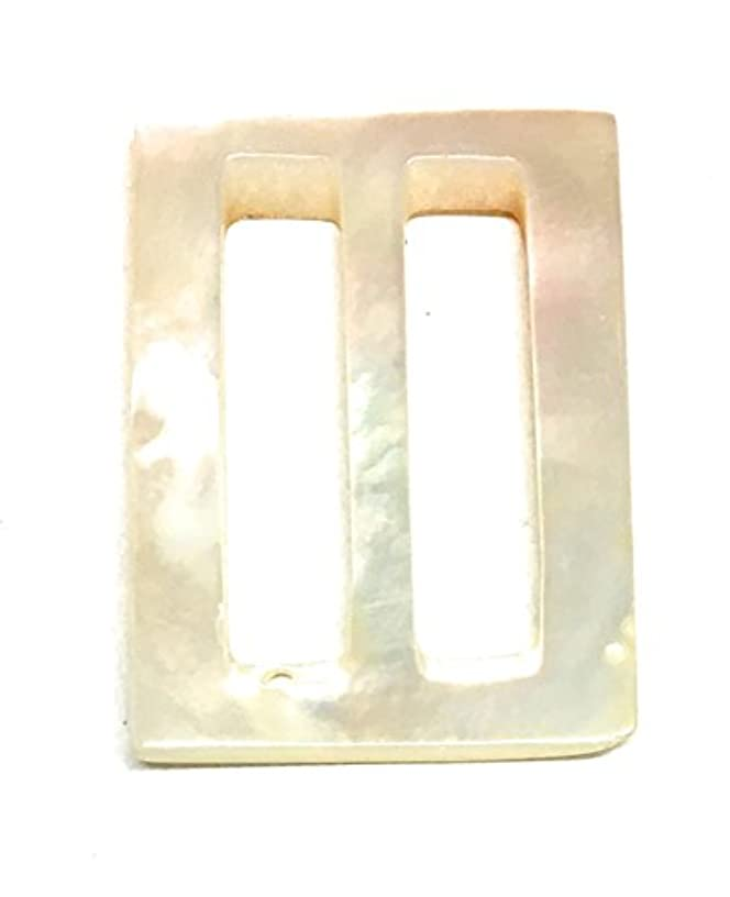 Mother of Pearl Belt Buckle for women 1-1/8