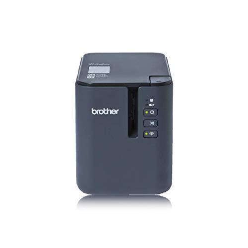 Brother PT-P900W Professionelles PC-Beschriftungsgerät mit WLAN (für 3,5 bis 36 mm breite TZe-Schriftbänder, Thermotransfer-Druckverfahren)