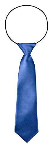 bomguard corbata infantil, 7cm de ancho, para boda, Bautizo, etc. azul genciana talla única