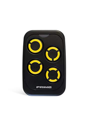 Universal Handsender PRIME 433-868 MHz Fernbedienung Garagentoröffner Garagentor (Gelb)