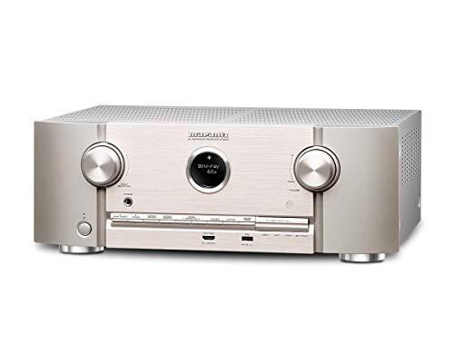 Marantz SR5013  7.2-Kanal Full 4K Ultra HD Netzwerk-AV-Surround-Receiver mit HEOS und Amazon Alexa Silber