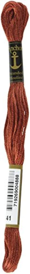 Anchor Six Strand Embroidery Floss 8.75 Yards-Terra Cotta Dark 12 per Box