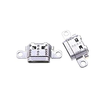 PHONSUN Replacement USB Charging Port Plug for 2017 Amazon Kindle Fire 7 7th Gen Generation SR043KL  Pack of 2
