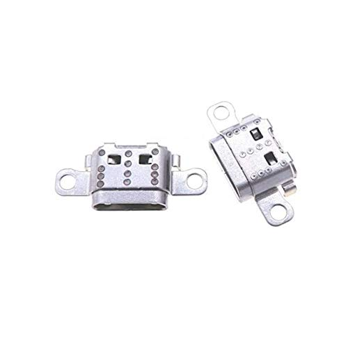 PHONSUN Replacement USB Charging Port Plug for 2017 Amazon Kindle Fire 7 7th Gen Generation SR043KL (Pack of 2)
