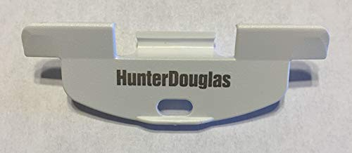HunterDouglas - Tirador Inferior para persianas de Panal de Abeja inalámbrica LiteRise (Paquete de 2)