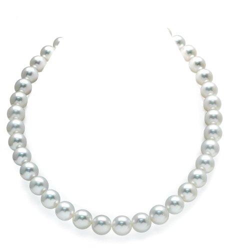 11–12mm, colore: bianco perle del Mare del sud, qualità AAA, 20'Matinee, lunghezza 14K oro chiusura