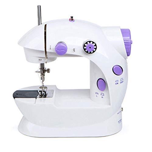 N/V Inglés Embalaje Mini Máquina de Coser Multifunción Eléctrica Máquina De Coser Hogar Rápido Coser Tejidos de Tejidos de Diy Herramientas