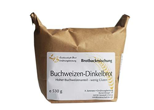 Leidenschaft-Brot - Brotbackmischung Buchweizen-Dinkelbrot ca. 530 g