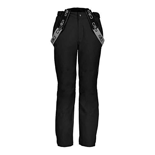 CMP Feel Warm Flat 10.000, Pantaloni Uomo, Nero, 52