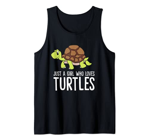 Just A Girl Who Loves Turtle Women Girls...
