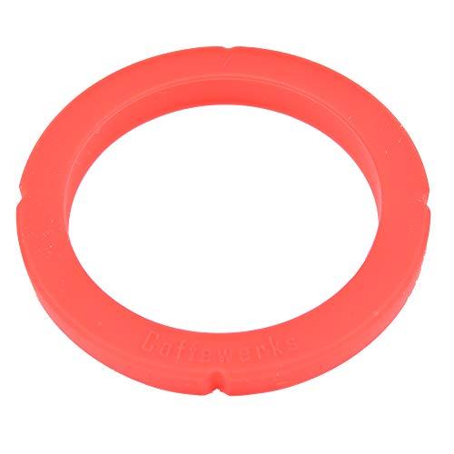 Snapworld-Kaffee Dichtung O-Ring Siebträgerdichtung kompatibel als Ersatz für MARZOCCO SLAYER MAVAM Espressomaschine Kaffeemaschine Brühgruppe Brühkopfdichtung (Rot) ø 72 x 55 x 6,1/8mm