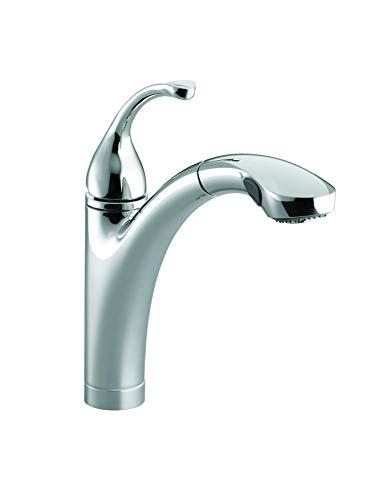 KOHLER Forte Single Control Pull-out Kitchen Sink...