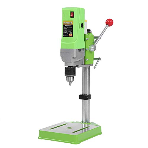 Learn More About Asixx Bench Drill Stand, 220V 710W Mini Metal Floor Drill Press Table Workbench Com...