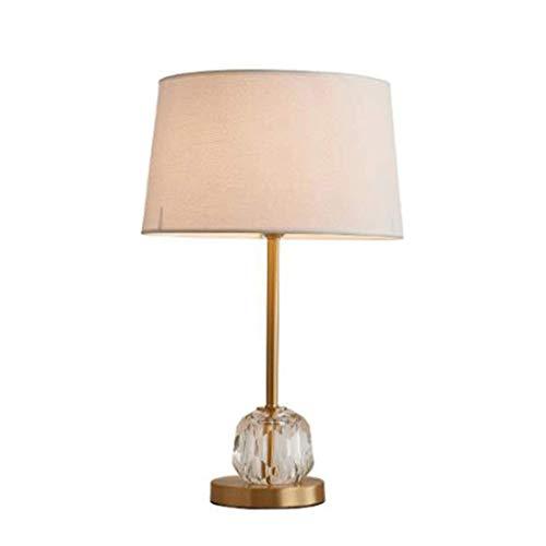 NBVCX Lámpara de Escritorio de decoración de Muebles, lámpara de Mesa Moderna de Cobre, Dormitorio, mesita de Noche, Sala de Estar, Lectura, lámpara Decorada E27 1 luz