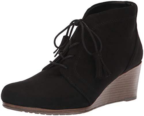 Dr. Scholl's Shoes Frauen Kennedy Pumps Rund Fashion Stiefel Schwarz Groesse 9 US /40 EU