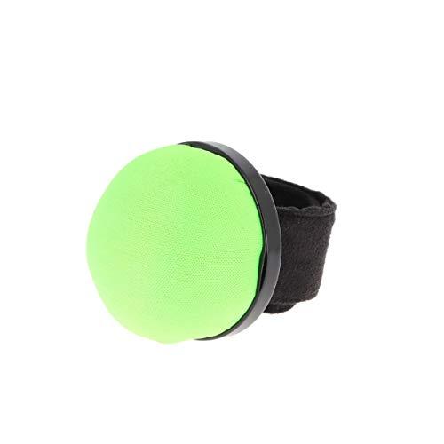 Bohin 98885 - Pulsera flexible para alfileres (5 unidades), color verde neón