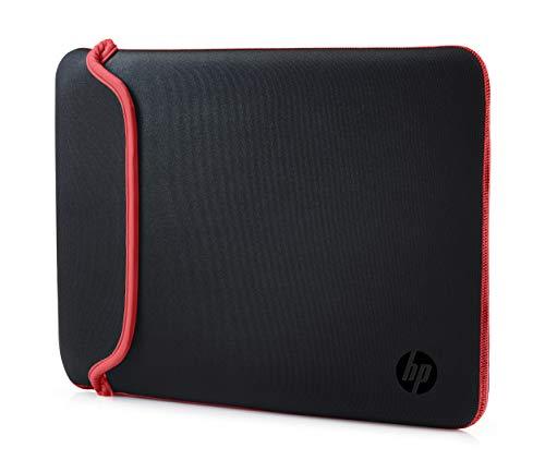 HP Sleeve (V5C26AA) Schutzhülle für Laptops, Tablets (Neopren, 14 Zoll) schwarz /rot