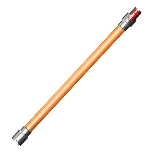 MOPEI Tube d'extension pour aspirateurs Dyson V7 V8 V10 V11, 73CM (Orange)