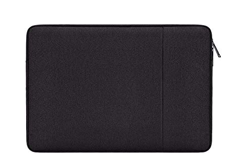 DOT. 14 - 15.4 Inch Laptop Sleeve Case Water-Resistant Neoprene Notebook Computer Pocket Tablet Briefcase Carrying Bag/Pouch Skin Cover for Acer/Asus/Dell/Lenovo/HP & More (14' - 15.4', Black)