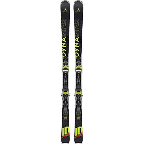 DYNASTAR Speed Zone 10 TI (KONECT) +NX Ensemble Ski All Mountain avec Fixation Mixte, Noir, 175 cm