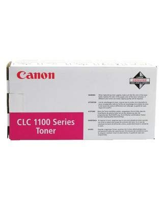 Canon Magenta Toner Cartridge for CLC1100/11505750Pages Magenta–Tóner láser & Cartridges (5750Pages, Magenta)