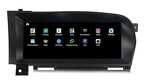 HYCy El Navegador De DVD Es Adecuado para Mercedes-Benz W221 S-Class, Control Central del Automóvil, Navegación De Pantalla Grande, Bluetooth 2 + 32G Compatible con 4G WiFi