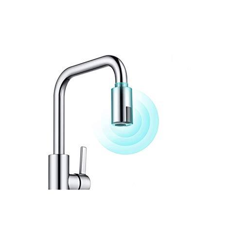 MDFKBC Smart Faucet, adaptador de grifo sin contacto Dispositivo de ahorro de agua Sensor infrarrojo Adaptador de economizador de agua Sensor de grifo de agua adecuado M22 M24 Boquilla de grifo