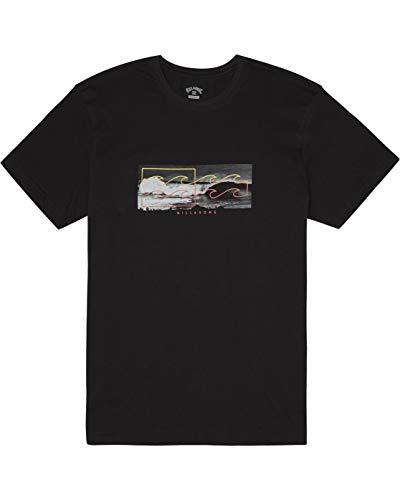 BILLABONG Herren T-Shirt Inverse Tee SS, Black, XXL, S1SS28
