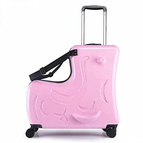 Valigia per bambini - Valigia per bambini con lucchetto TSA Valigia espandibile da 20 pollici da 24 pollici