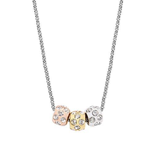 Morellato SCZ335 - Ciondolo da Donna in Acciaio Inox, Motivo: Gocce, Colore: Argento