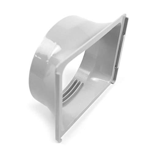 QINGRUI Air Conditioning Parts 15cm Plaza portátil de Escape de Aire Acondicionado de conductos del Cuerpo Conector de Interfaz de Techo Easy to Install