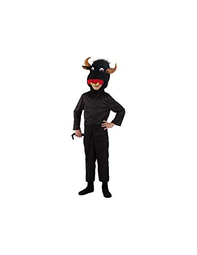 DISBACANAL Disfraz Toro Infantil - -, 8 años
