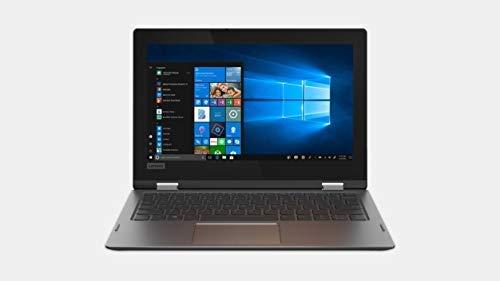 Lenovo Flex 6-11IGM 81A7000BUS Laptop, 11.6 Inch HD Touchscreen Display, Intel Pentium Silver N5000 Processor, Upgrade 4GB to 16GB DDR4, 64GB eMMC, Windows 10 Home in S Mode, Onyx Black (Renewed)