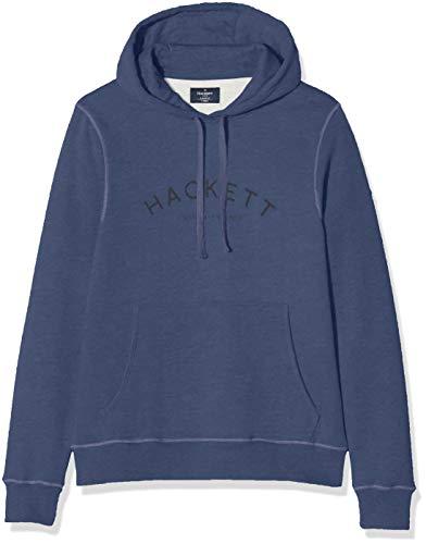 Hackett London Clasc Logo Hoody Sudadera, Azul (595navy 595), X-Small para Hombre