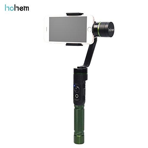 Andoer Hohem iSteady T1 3-Axis Sostenere la Stabilizzazione del Giunto Cardanico Stabilizzatore Palmare Panorama a 360 Gradi Ripresa e Smart Auto-tracking di Ripresa per iPhone per Samsung