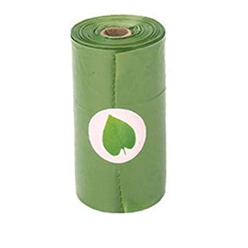Odoukey Impulso del Perro Bolsas Pickup Dispenser con LED de luz de Flash   residuos de Pet Bolsas Holder para Caminar a la Mascota en la Noche   Bolsas de pañales de residuos dispensador