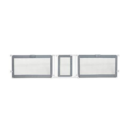 Summer Custom Fit Gate, Grey, 65-143 Inch Extra Wide