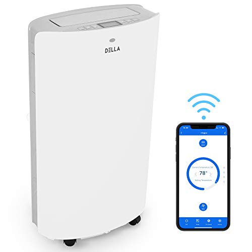 DELLA 14000 BTU Smart Portable Air Conditioner Unit 11000...