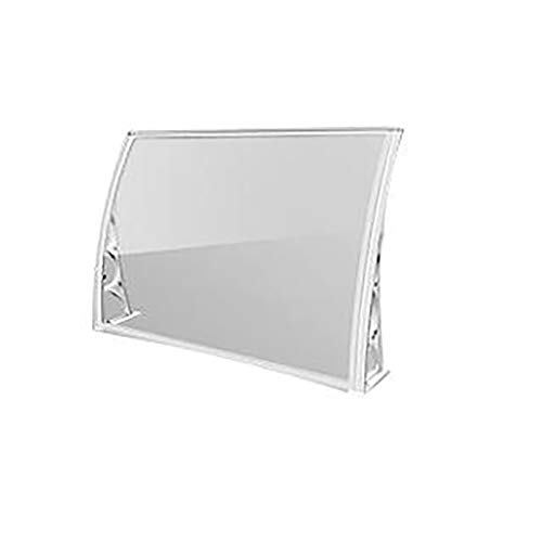 Toldos Ventana Blanca Lluvia Nieve Capota Exterior, Resistente a los UV, Aislamiento acústico, for la Ventana del Patio de Techo 59.5 * 60cm (Size : 59.5 * 100cm)