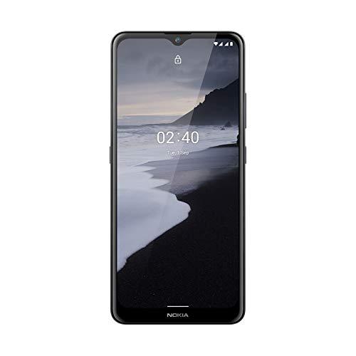 Nokia 2.4 -Smartphone 6,5'' HD+ (3GB RAM, 64GB ROM, Cámara 13MP +2MP, BaterÍa 4500 mAh(miliamperio-hora) ), Charcoal [Versión ES/PT]