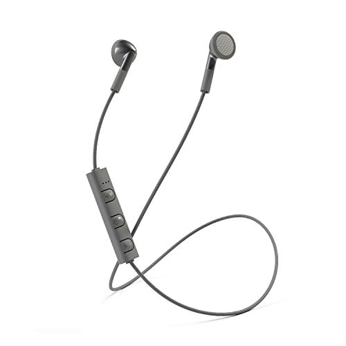 Mixx Audio | Classic Fit Bluetooth Wireless Stereo Earphones - Space Grey - Compatible with Android/iPods / Ipads/iPhone