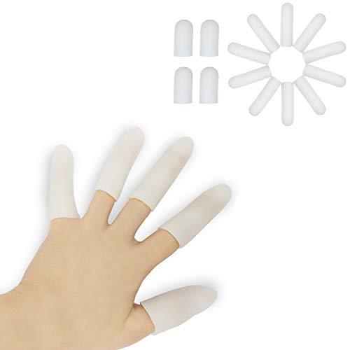 Gel-Fingerlinge, Fingerschutz-Unterstützung, NEUES MATERIAL, Finger-Handschuhe, Finger-Hülsen, die für Triggerfinger, Handekzem, Finger-Knacken